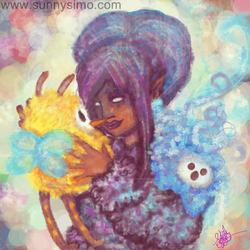 Oekaki-blush-colors-cute-fantasy-original-made-by- by ikbenroze