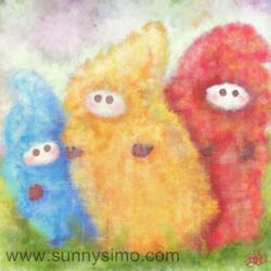 Orginal-oekaki-fluffies-made-in-blush-by-sunnysimo by ikbenroze