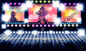 Concert Lights by art1st1cDes1gn
