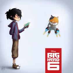 Big hero 6 by Leska1994