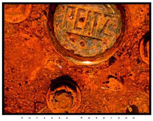 Puddle of Rust by corissa