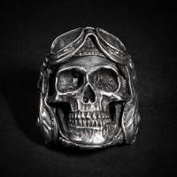 Aeronaut Skull Ring by fourspeedindonesia