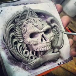Fourspeed X Maxx Gramajo Buckle Sculpting by fourspeedindonesia