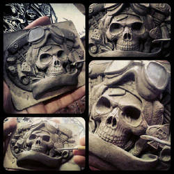Fourspeed X David Vicente buckle sculpting by fourspeedindonesia