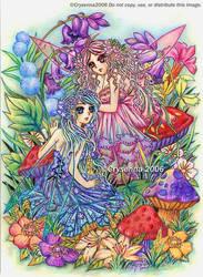 A Fairy's Garden by Crysenna