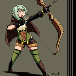 High Elf - Goblin Slayer by Miyasaki003c