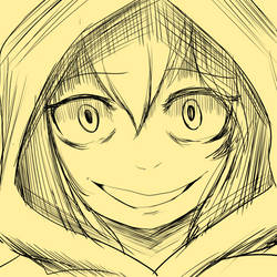Fanart sketch by Miyasaki003c