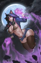 Deep dark magician by wnsdud34
