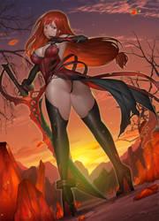 Crimson avenger by wnsdud34