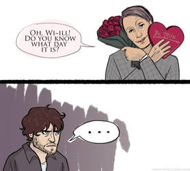 hannibal - belated v-day comic by verilyvexed