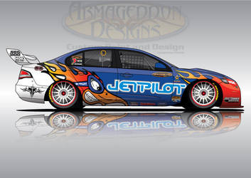 Jetpilot FG V8Supercar. by ArmageddonDesigns