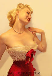Doll Corset by laceembrace