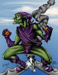 Green Goblin in Technicolor by alxelder