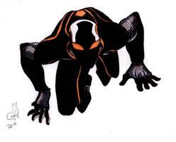 Spiderman armor Suit sketch 2 by alxelder
