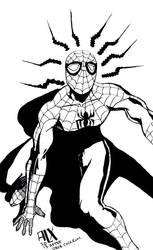 Superior Spiderman Asm194 Homage Cover by alxelder
