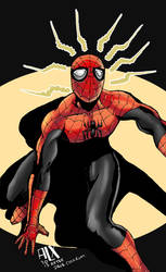 Superior Spiderman Asm194 Homage Color Cover by alxelder