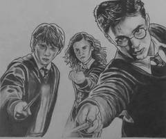 Harry Potter by RoseRain-92