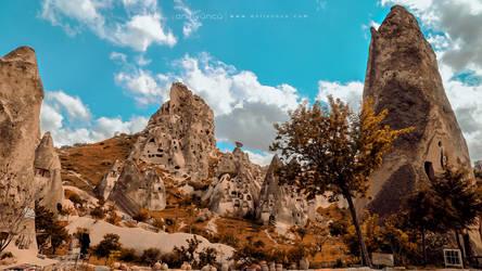 Uchisar Kalesi/Cappadocia/Kapadokya by anilync