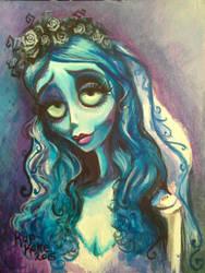 Emily - The Corpse Bride by KupKake666