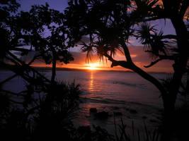sundown by vbdragonfly