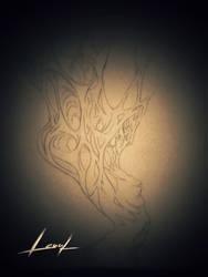 tattoo design - Soul Creature by Lenuk