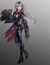 Charakter Design - Linesh by Lenuk