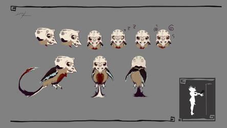 Character Design - Bird by Lenuk