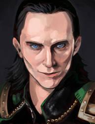 Loki by shark-bomb
