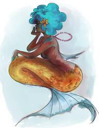 Mermaid by shark-bomb