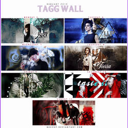 Tagg wall 5 to 11 of Genuary by beezep