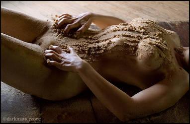 Sand Girl 5 by darkmatterzone