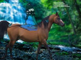 The butterfly horse by BirdWingStudios