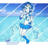 Super Sailor Mercury by PlantAsteroid