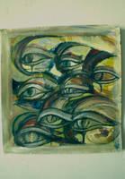 Dark Eyes by Yamenja