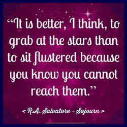 R.A. Salvatore Quote by Mulluane