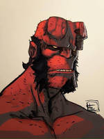 HELLBOY COLOR BY LOGICFUN by Ultrafpc