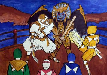 Battle at Edo by pinguino