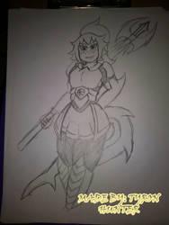 Freebane Sketch: Runea Debal by S-E-Nirvana