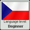 Stamp: Czech Language Beginner by Alpanu
