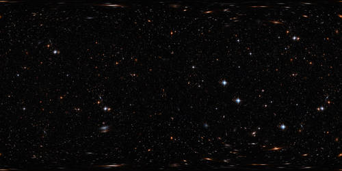 Free star sky HDRI spherical map by kirriaa
