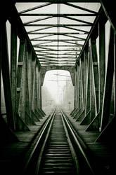 Railway track by ozimek