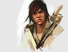 connor kenway young by AndyAlbarn