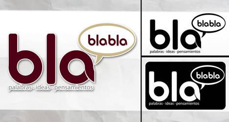 bla bla bla logo by perrobravo