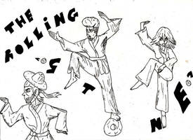 Everybody Was Kung Fu Fighting by phenomenom9