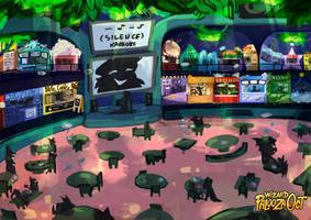 [WizardPaloozaOCT] - The Food Court by Pi3shark