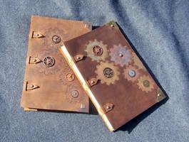 Steampunk Gear Sketchbooks by MPFitzpatrick