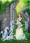 Unicorn Abbey by MPFitzpatrick
