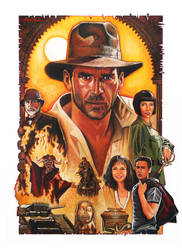 Indiana Jones Saga by Chrisroma