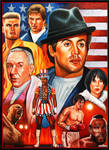 Rocky Balboa Saga by Chrisroma