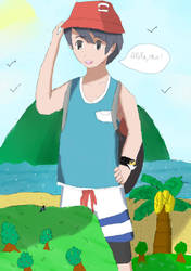 Alola to the new protag! by ViviWantsToBattle
